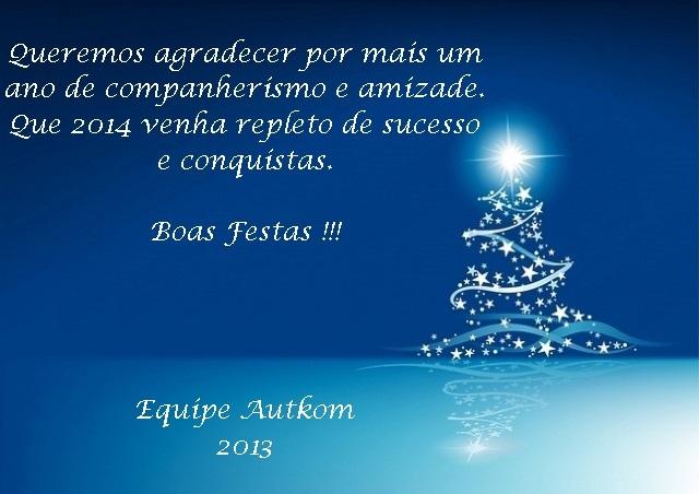 Feliz Natal e ótimo ano novo