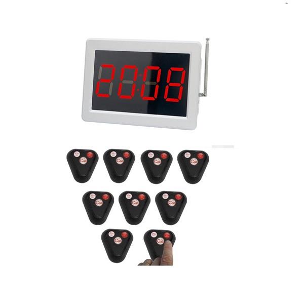 Painel alfa numerico e campainhas pequeno