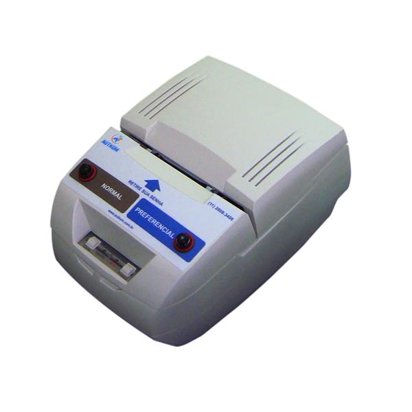 impressora de senhas 2 tipos de atendimentos (preferencial e normal)