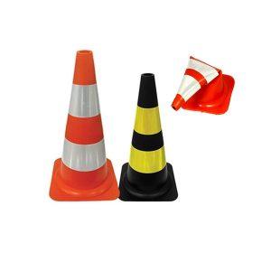 Cone Flexível para sinalização