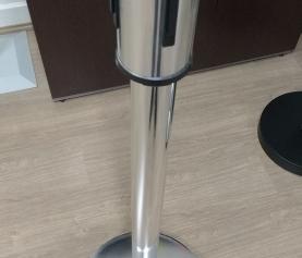 Pedestal de fila SLIM, lançamento